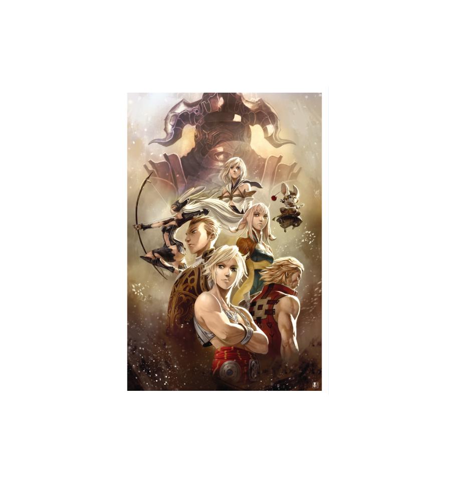 La Légende Final Fantasy XII & Ivalice La-legende-final-fantasy-xii-ivalice-first-print