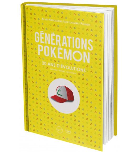 Générations Pokémon. Plus de 20 ans d'évolutions
