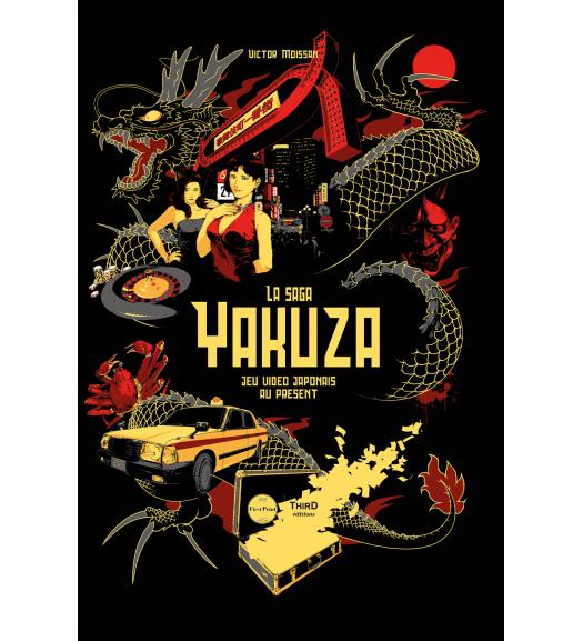 La Saga Yakuza. Jeu vidéo japonais au présent - First Print