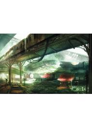 Final Fantasy VII Art Print by Jordan Grimmer