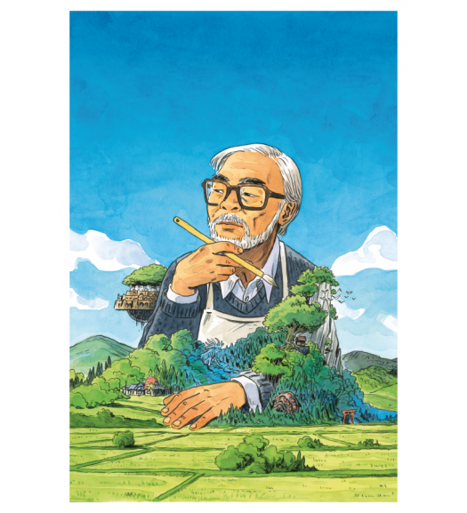 Miyazaki Art Print by Atelier Sentô