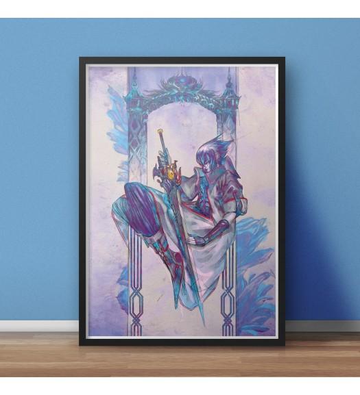 Final Fantasy XV Art Print by Romain Mazevet